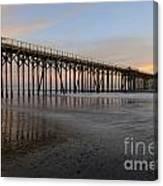 Sunset Pier  California 5 Canvas Print