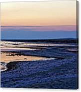 Sunset Salton Sea North Canvas Print