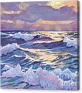 Sunset Santa Catalina Canvas Print