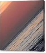 Sunset Slope Canvas Print