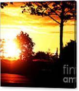 Sunset Soon Canvas Print