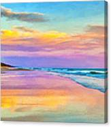 Sunset South Of Todos Santos Canvas Print