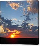 Sunset Supreem Canvas Print