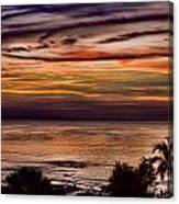 Sunset Swirl Canvas Print