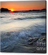 Sunset Uncovered Canvas Print