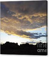 Sunset Valley Of Fire Canvas Print