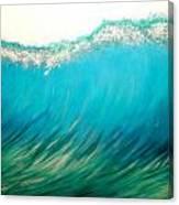 Sunset Wave Five Canvas Print