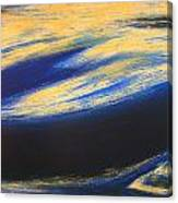 Sunset Wave One Canvas Print
