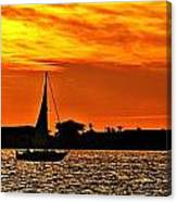 Sunset Xii Canvas Print