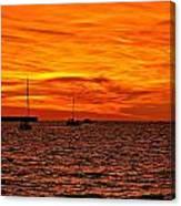 Sunset Xix Canvas Print