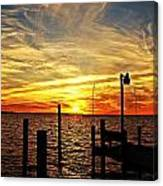 Sunset Xv Canvas Print