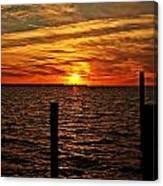 Sunset Xvii Canvas Print