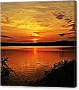 Sunset Xxi Canvas Print