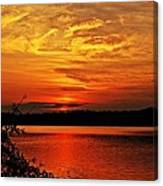 Sunset Xxiv Canvas Print