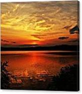 Sunset Xxv Canvas Print