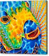 Sunshine Angelfish Canvas Print
