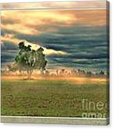 Sunshine On A Cloudy Day Canvas Print