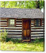 Sunshine On The Little Cabin Canvas Print