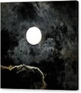 Super Moon II Canvas Print