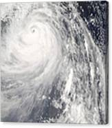 Super Typhoon Wipha Canvas Print