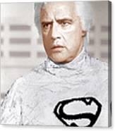 Superman, Marlon Brando, 1978 Canvas Print