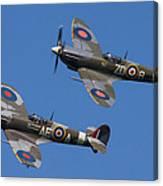 Supermarine Spitfires Canvas Print
