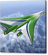 Supersonic Aircraft Design Canvas Print