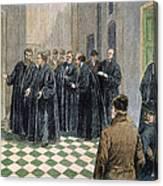 Supreme Court, 1881 Canvas Print