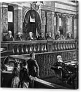 Supreme Court, 1888 Canvas Print