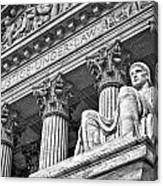 Supreme Court Building 20 Canvas Print