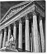Supreme Court Building 5 Canvas Print