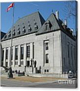 Supreme Court Of Canada Canvas Print