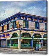 Surf Avenue Museum Canvas Print