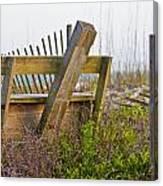 Surf City Chair Canvas Print