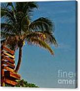 Surf Lookout Canvas Print