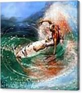 Surfscape 03 Canvas Print