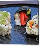 Sushi California Roll Canvas Print