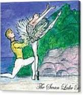 Swan Lake Ballet Canvas Print