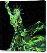 Sweat Liberty Canvas Print