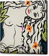 Sweet Mermaid Canvas Print