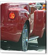 Sweet Red Thang Canvas Print