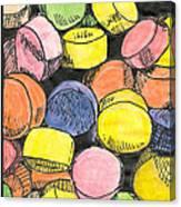 Sweet Tart Candy Canvas Print