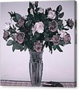 Sweet Valentine Bouquet  Canvas Print