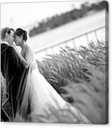 Sweet Wedding Canvas Print