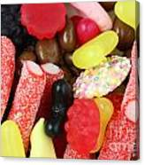Sweets And Candy Mix Canvas Print