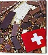 Swiss Chocolate Canvas Print