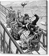 Switchback Railway, 1886 Canvas Print