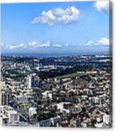 Sydney - Aerial View Panorama Canvas Print
