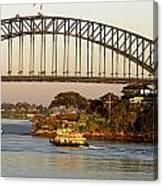Sydney Harbour Bridge At Dawn Canvas Print