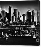 Sydney Harbour Monochrome Canvas Print